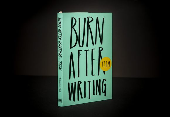 Burn After Writing TEEN (New Edition)